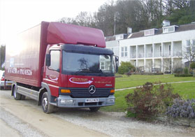 Baynton Williams Removals Vehicle
